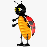 ladybird character 3ds