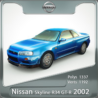 Nissan GT-R Skyline R34 2002