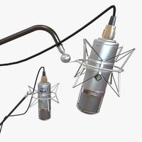 3ds neumann u47 microphone