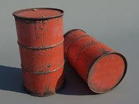 maya rusted barrel