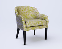 3d siena chair