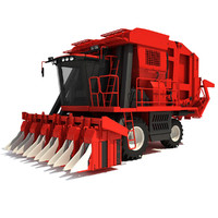 cotton picker 3d max