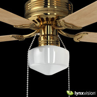 Brass Decorative Ceiling Fan