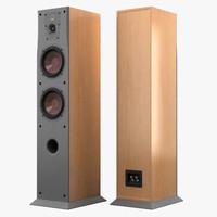 dali concept 6 speaker 3d model