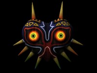free lwo model demonic mask