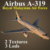 airbus 3d max
