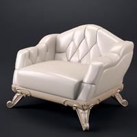 3d meroni 347psal chair model