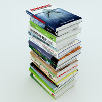 3ds max stack books