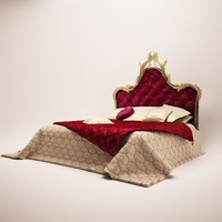 bed asnaghi 3d obj