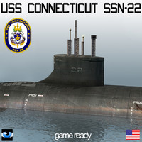 USS Connecticut (SSN-22) Submarine