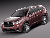 3d 2013 2014 toyota suv model