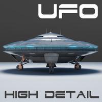 ufo modelling 3d obj
