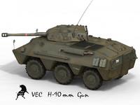 panhard 3d model