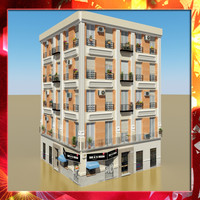 3d model photorealistic building 13