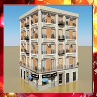 3d model photorealistic building 13