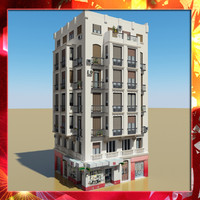 max photorealistic building 21