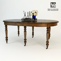 eichholtz table dinning 3d model