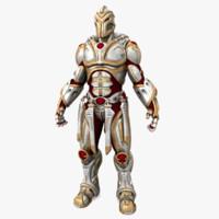 soldier man 3d model