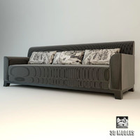 3d jnl smoking sofa