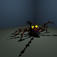 model mechanical spider