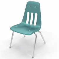 fbx stacking school chair