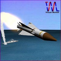 british aerospace sea wolf 3d model