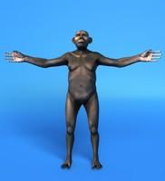 Australopithecus Woman