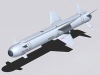 missiles kh-38me 3d model