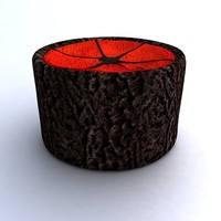 3d model russian fur hat