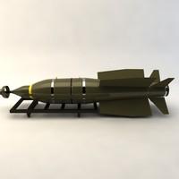 3d bolt-117 bomb model