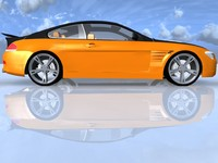 3d bmw car games model
