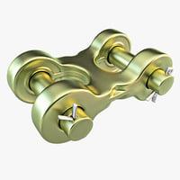 3d link model