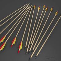 3d model arrow