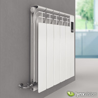3d model european die-casting aluminium radiators