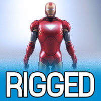 Iron Man rigged