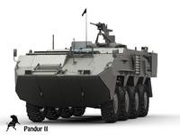 3d pandur tank
