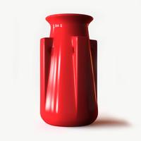 Teco Four Buttress Vase