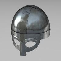 viking helmet 3d c4d