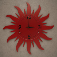 3d model fxb wall clock