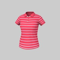 maya polo striped t