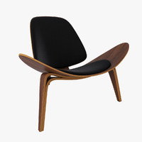 max wegner shell chair ch07