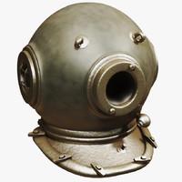 lwo retro scuba helmet