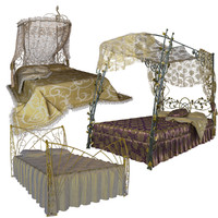 free forged beds 3d model