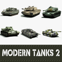Modern Tanks collection 2