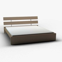 ikea hoppen double bed 3d max