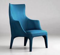 giorgetti minerva armchair 3d max