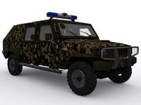 agrale armies 3d model