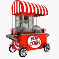 Popcorn Cart 1
