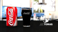 3ds max coca cola drink