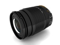 lens 3d max